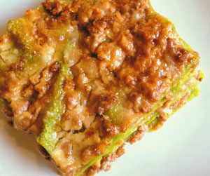 A special lasagne recipe direct from Carmelita Caruana in Italy