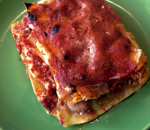 Lasagna Napoletana Recipe improves with waiting